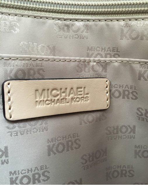 Bolsa Michael Michael Kors Jet Set Bege