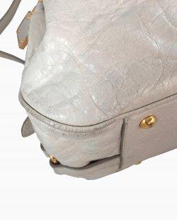 Bolsa Miu Miu Couro Off White