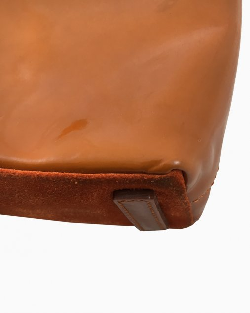 Bolsa Prada Verniz Caramelo