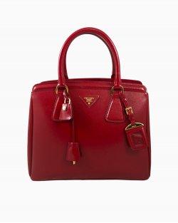 Bolsa Prada Verniz Vermelha