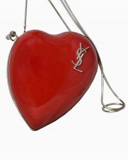 Bolsa Yves Saint Laurent Coração