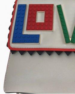 Bolsa Transversal Love Les Petit Joueurs