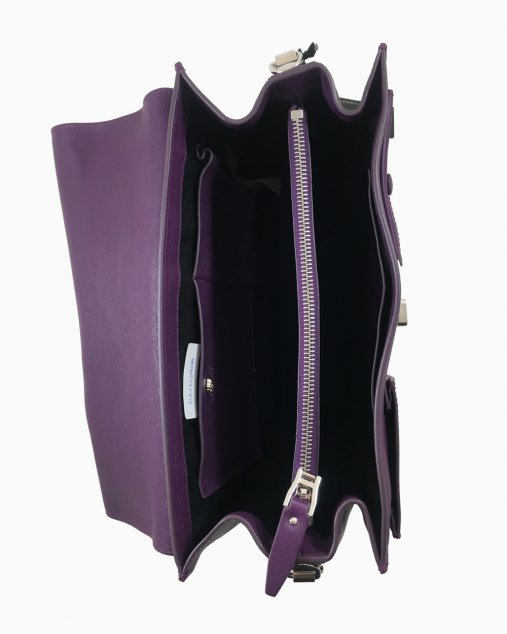 Bolsa Versace  Roxa