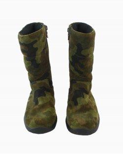 Bota Infantil Prada Militar Verde Tam 27