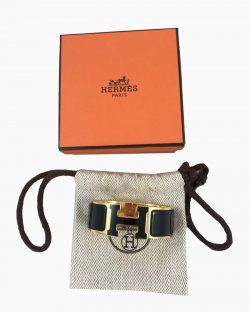Bracelete Hermes Preto