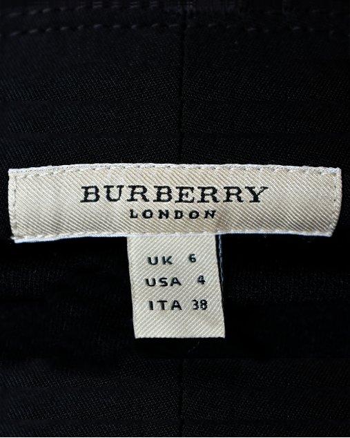Calça Burberry Alfaiataria Preta