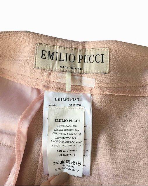 Calça Emilio Pucci Rose