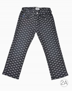 Calça Jeans Armani Junior Estampada 2A
