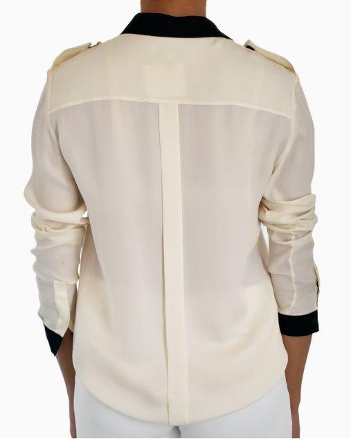 Camisa Burberry Bicolor