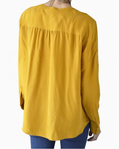 Camisa Hugo Boss Mostarda