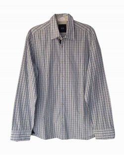 Camisa Hugo Boss Quadriculada Colorida