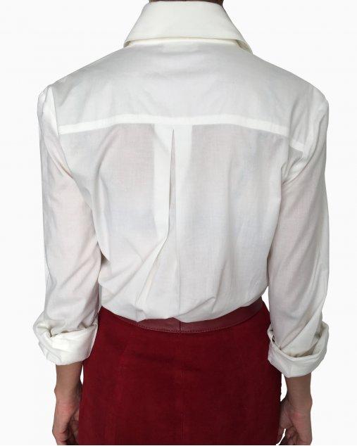 Camisa Karl Lagerfeld Off White