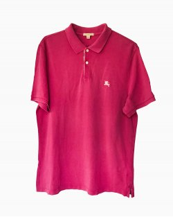 Camisa Polo Burberry Pink