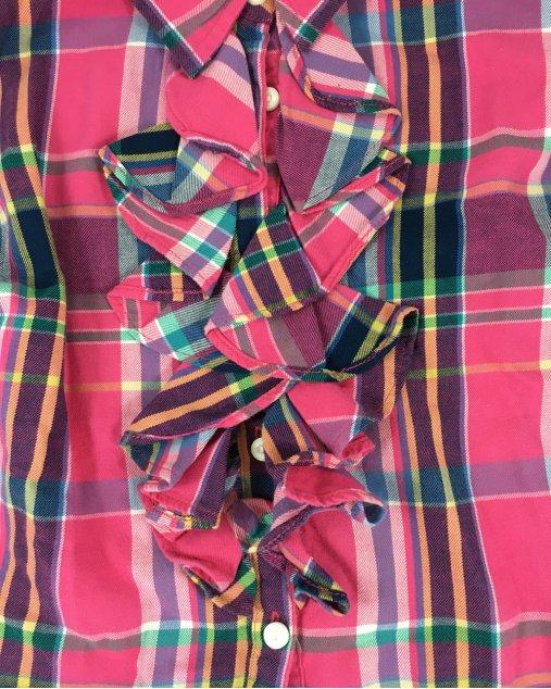 Camisa Ralph Lauren Xadrez Infantil