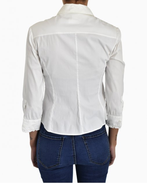 Camisa social feminina Miu Miu branca
