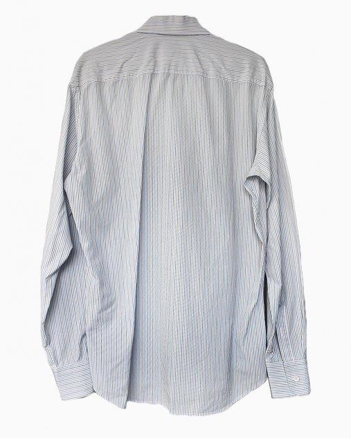 Camisa Social Prada Listrada Cinza