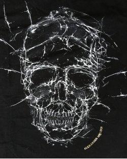 Camiseta Alexander McQueen Skull Preta