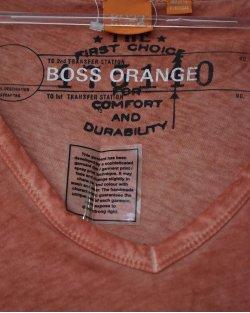 Camiseta Boss Hugo Boss Laranja Masculina