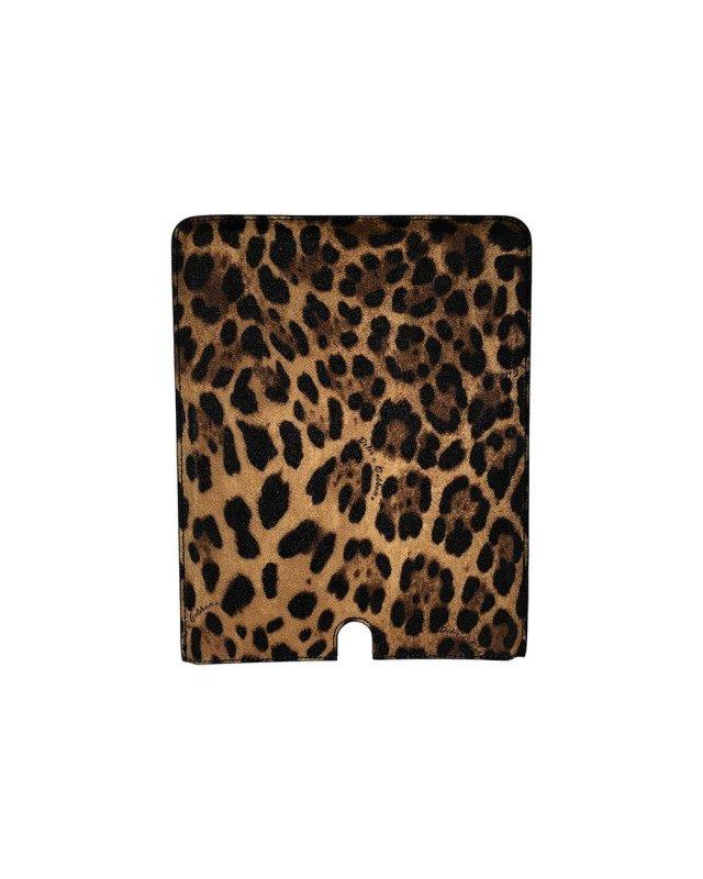 Capa Ipad Leopard D&G