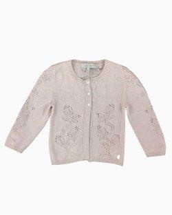 Cardigan Baby Dior Rosé Infantil