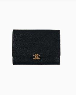 Carteira Chanel Preta Vintage