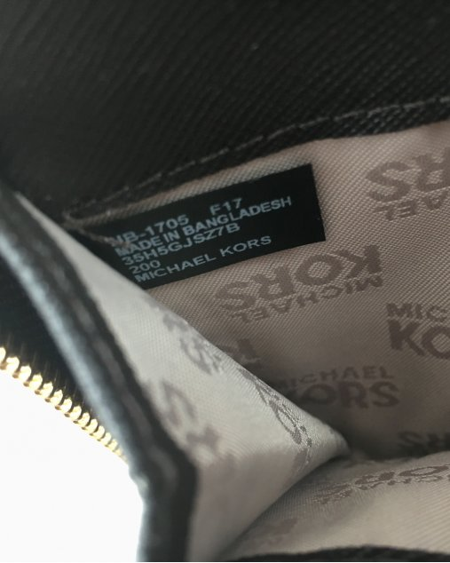 Carteira Michel Kors Canvas Monogram