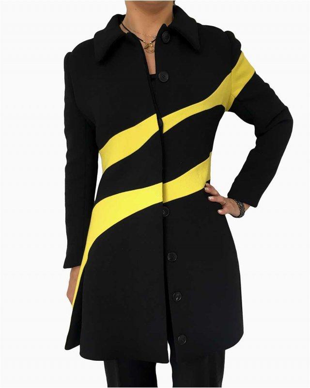 Casaco Dior Detalhes Amarelo