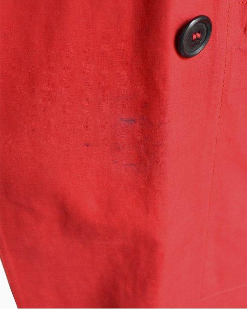 Casaco Louis Vuitton Mackintosh Vermelho