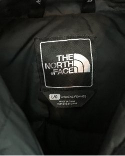 Casaco North Face Preto