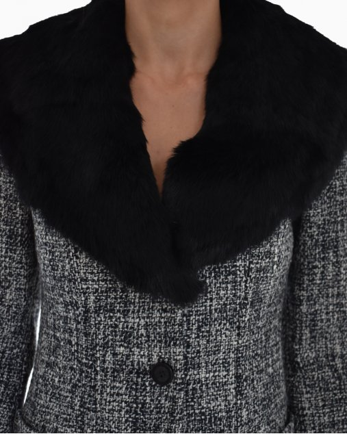 Casaco Talie NK Tweed Cinza