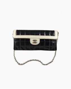 Chanel Vintage Preta e Offwhite