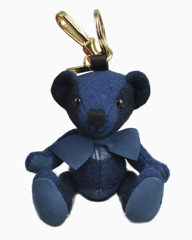 Chaveiro Burberry Thomas Bear Azul