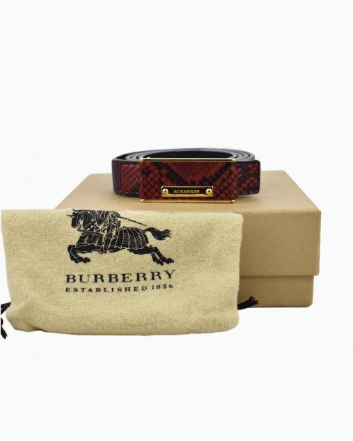 Cinto Burberry Roxo