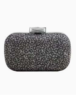 Clutch BCBGenerartion Animal Print Prateada