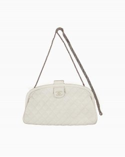 Clutch Chanel Offwhite Vintage