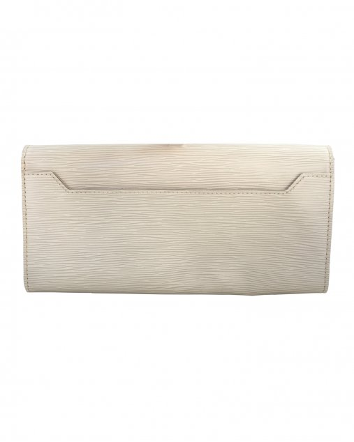 Clutch Louis Vuitton Sevigne EPI Off White