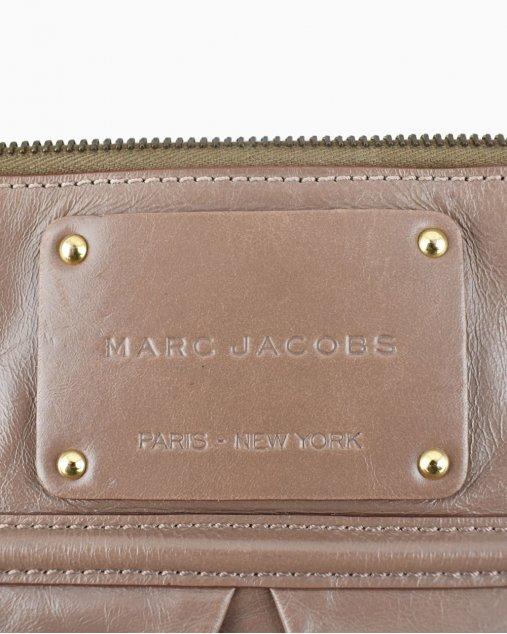 Clutch Marc Jacobs Marrom