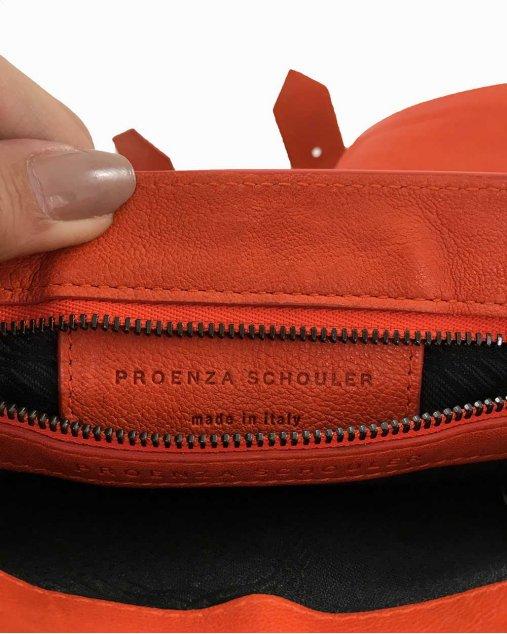 Clutch Proenza Schouler PS1 Laranja
