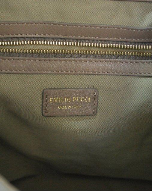 Clutch Pucci Bege
