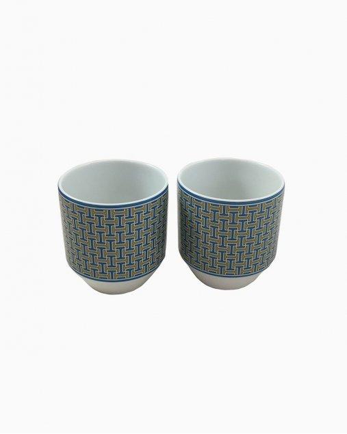 Conjunto Chá Hermès Tie set