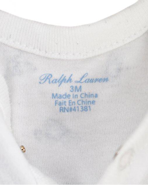 Conjunto Ralph Lauren Infantil