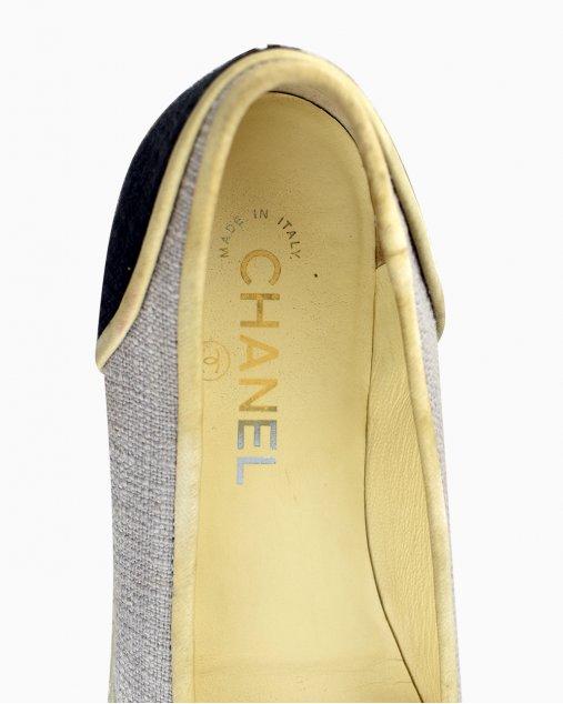 Espadrille Chanel Bicolor