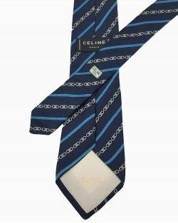 Gravata Celine Azul-Marinho