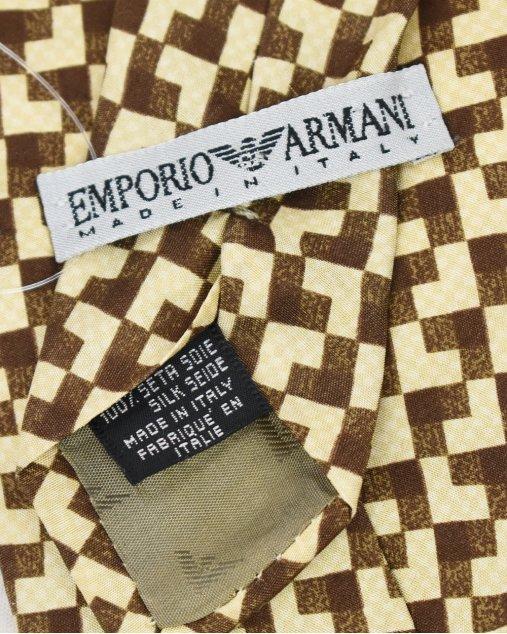 Gravata Emporio Armani Estampado