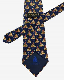 Gravata Lanvin Azul