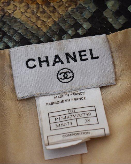 Jaqueta Chanel Python
