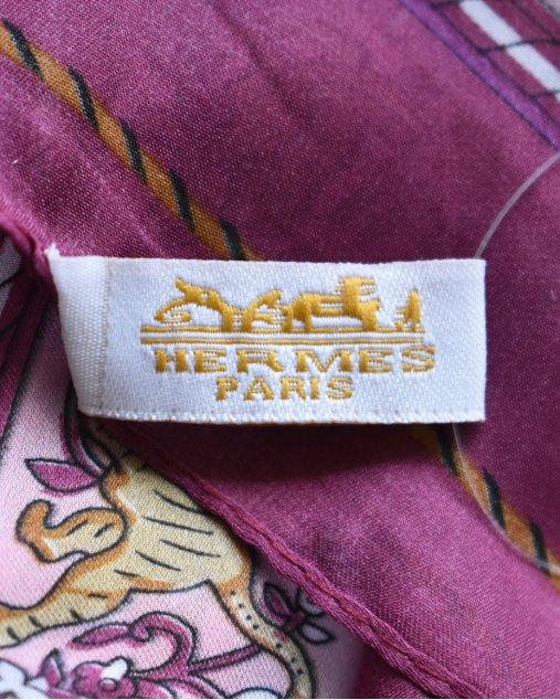Lenço Hermès Estampado