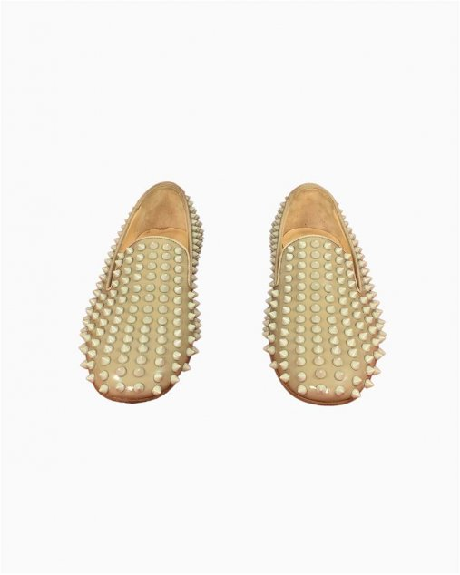 Loafer Louboutin Spike Nude