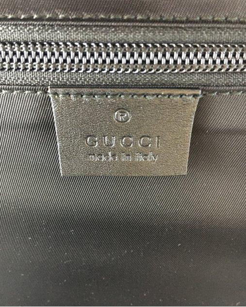 Mala Gucci Guccissima Preta