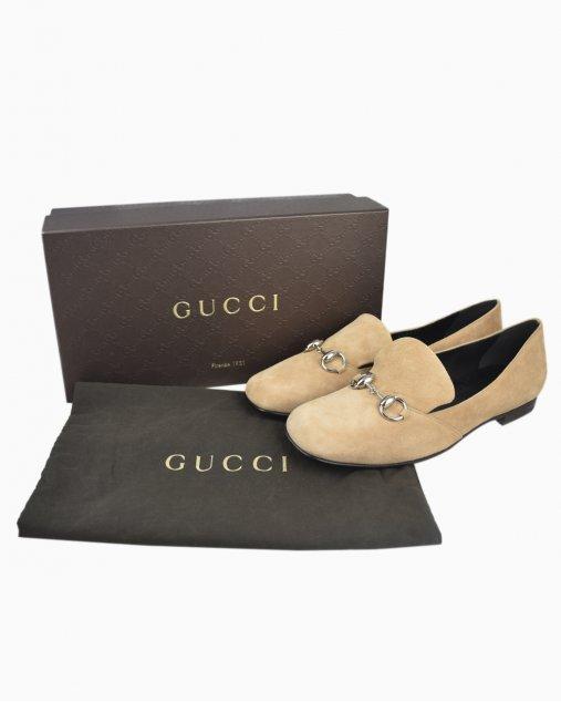 Mocassim Gucci Nude